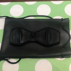Matte Black Triangl Bikini Top